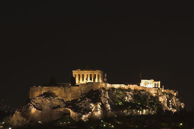 Parthenon Night