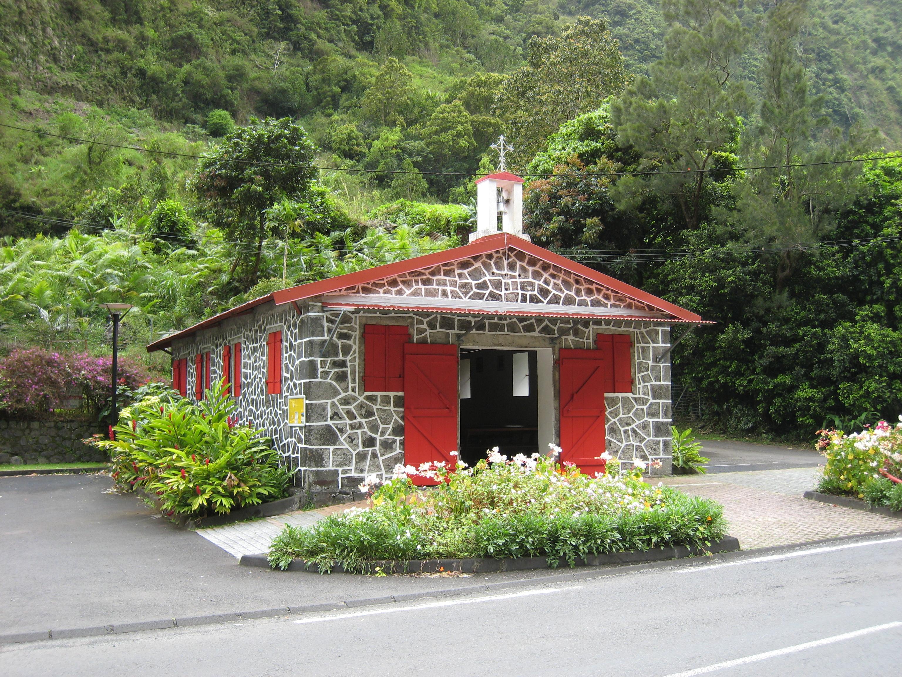 Chapelle du Pont de l'Escalier,Salazie,La Réunion