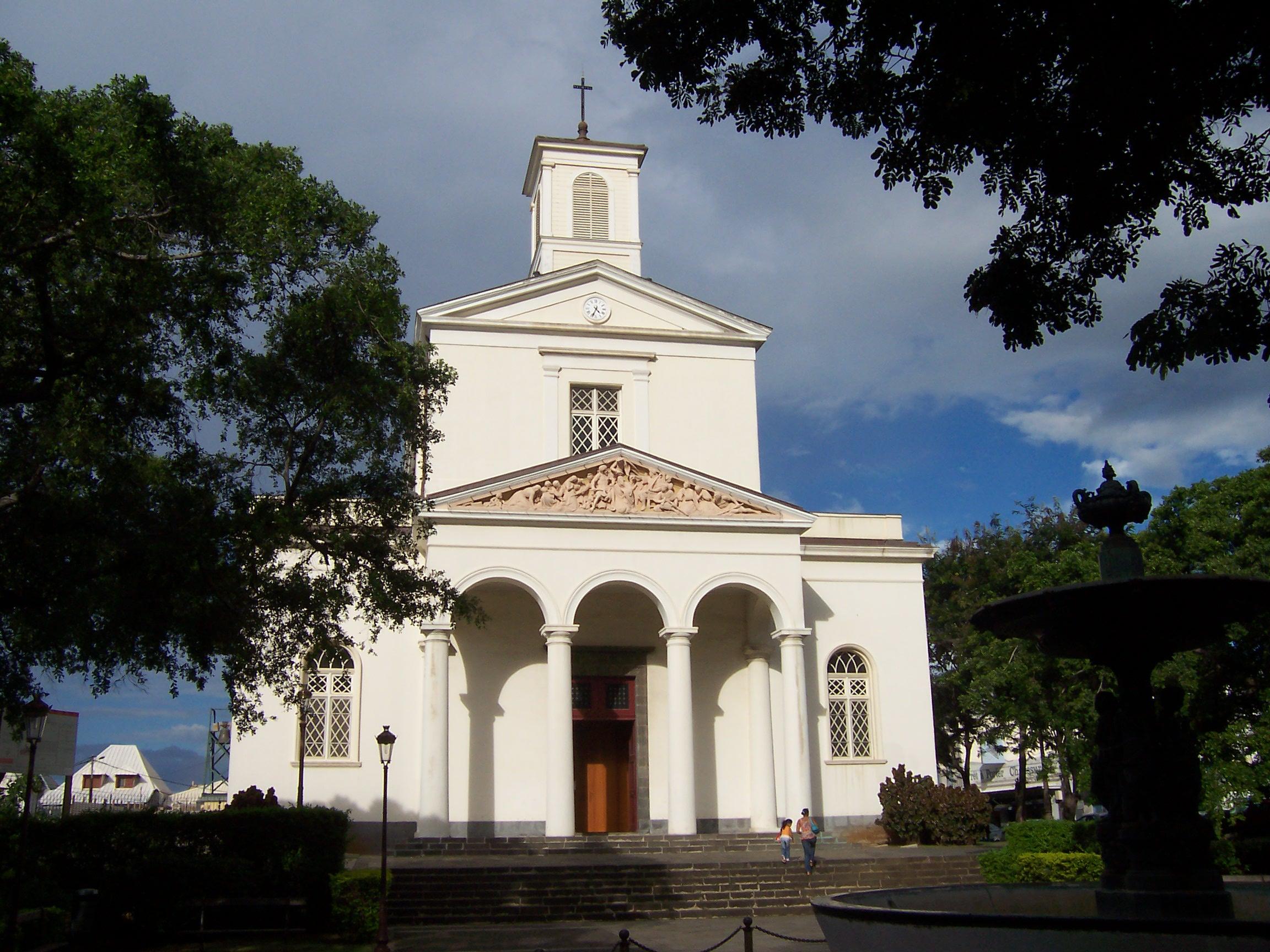 Saint Denis Réunion Cathedral