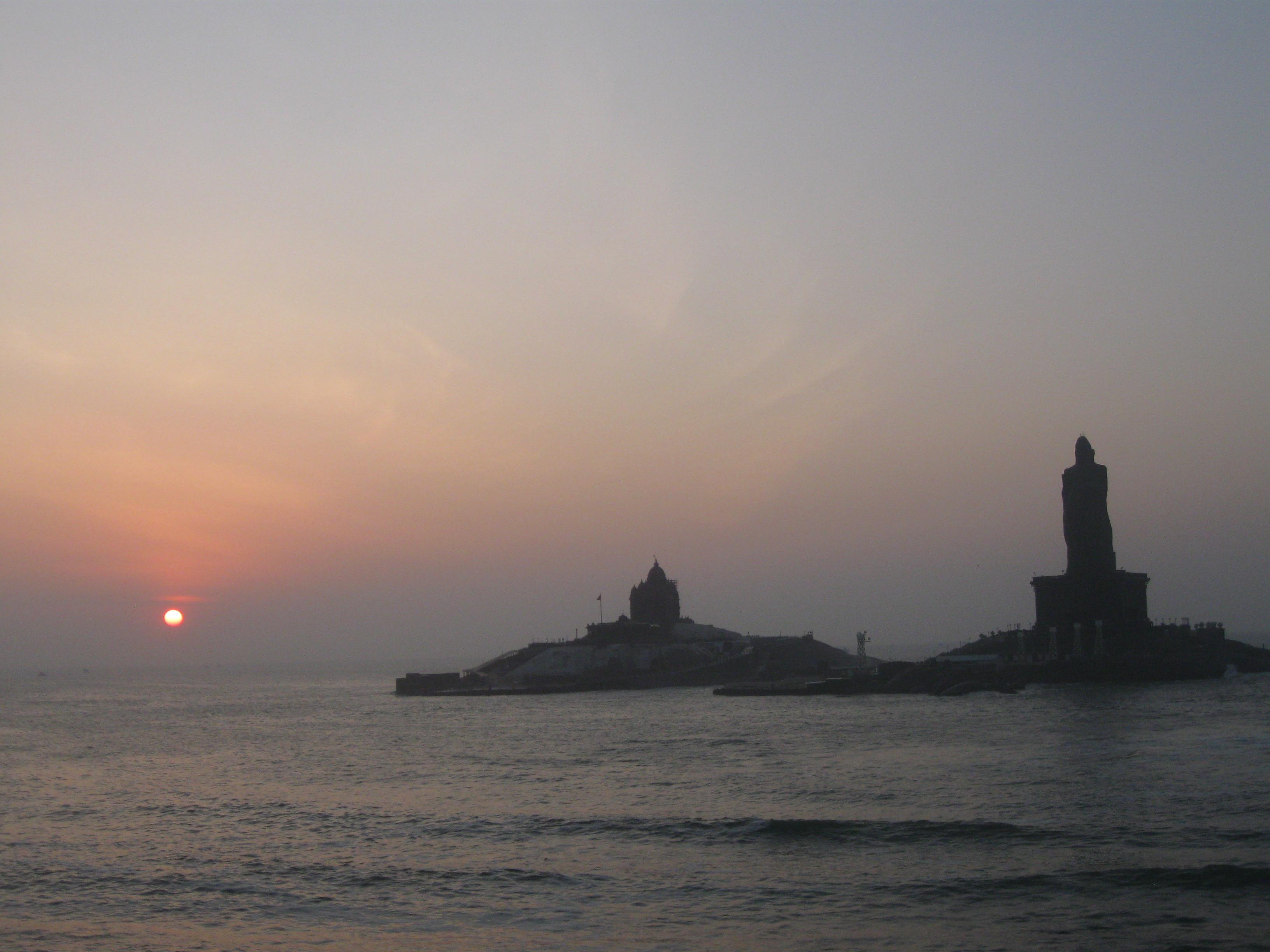 Sunrise Kanyakumari