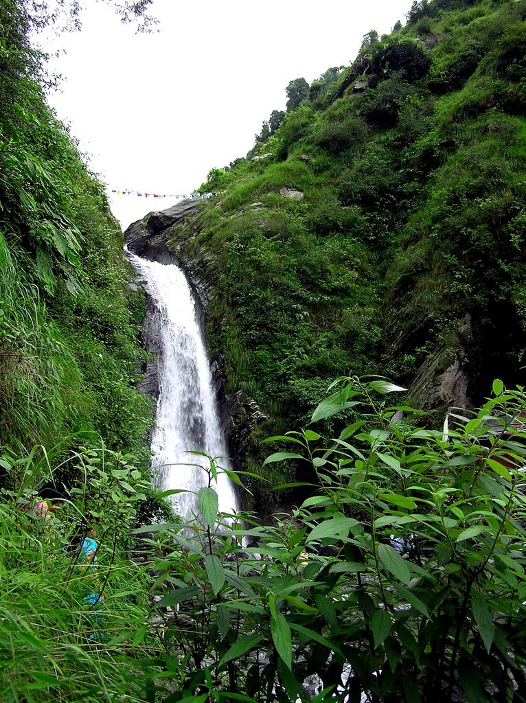 Bhagsu's waterfall, McLeod Ganj