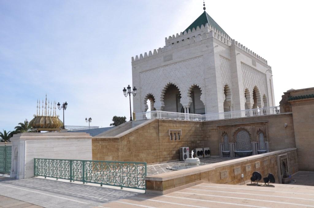 Entrance Mausoleum of Mohammed V, Rabat - Casablanca