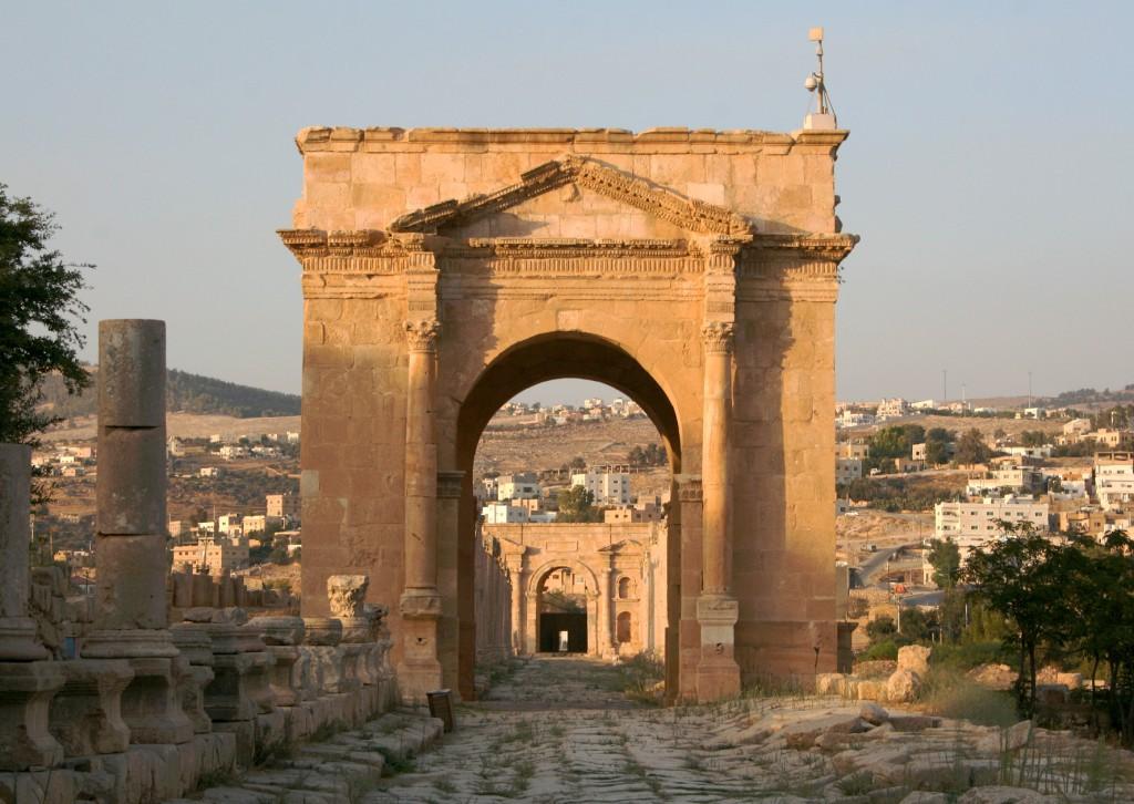 North Tetrapylon, Jerash