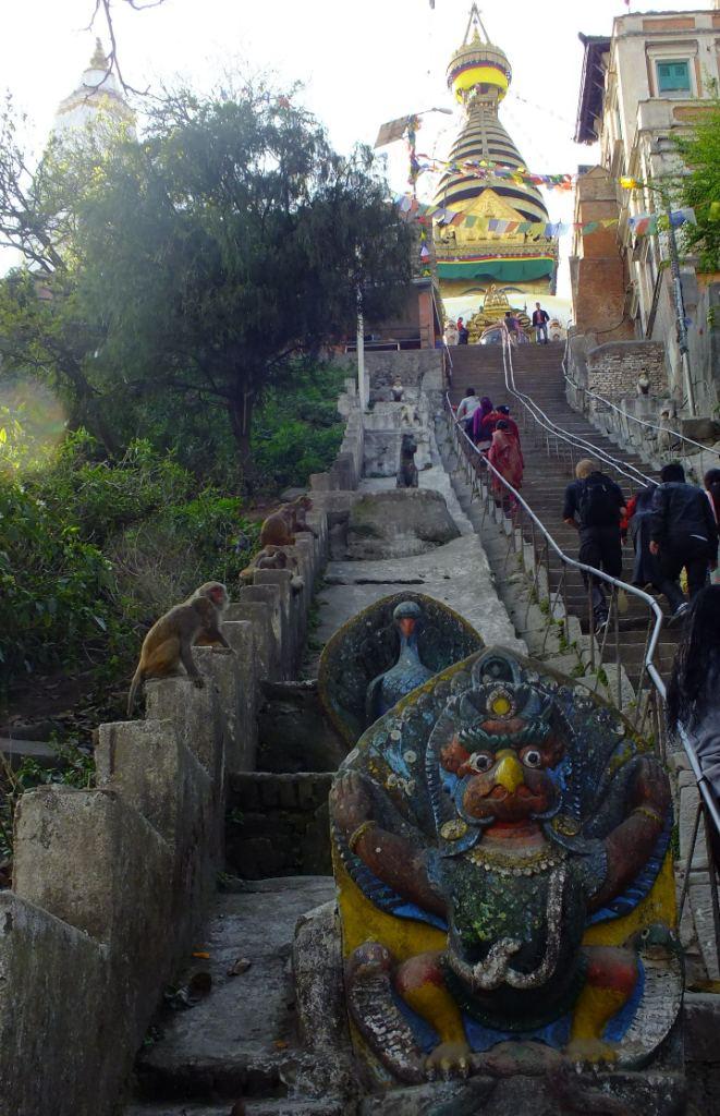 Swoyambhu - Monkey Temple