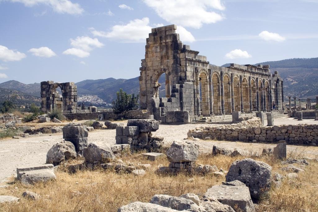 Volubilis Basilica Exterior