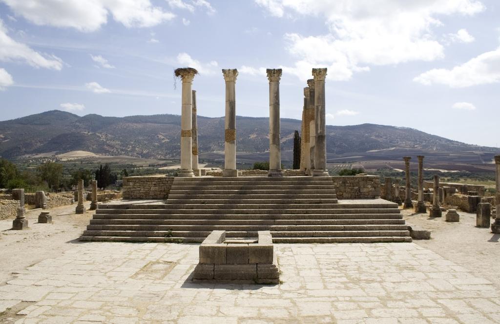 Volubilis Capitoline temple