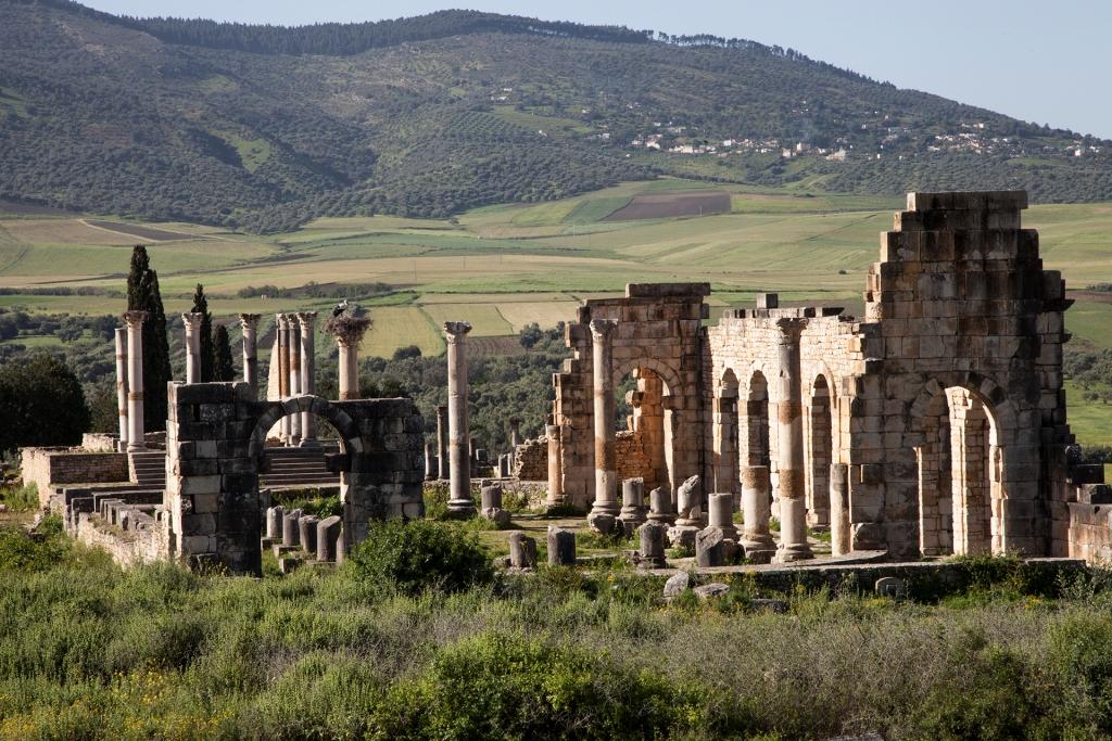 Volubilis ruins, Fez