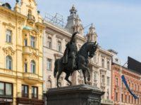Ban Jelacic statue, Zagreb