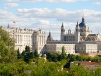 View of the Royal Palace, Madrid